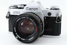 [Excellent Canon AE-1 SLR Camera w/FD 50mm f/1.4 S.s.C From Japan #683757