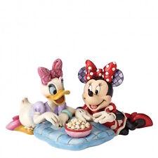 Disney Traditions 4054282 Minnie Topolina & Dasiy Anatra Nuovo Con Scatola
