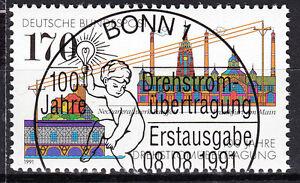 BRD 1991 Mi. Nr. 1557 gestempelt BONN Sonderstempel , mit Gummi (17739)