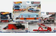 Hot Wheels 2021 3 Car Set Team Transport Case K Nissan Lancia Mercur Pre-Order