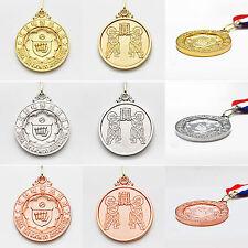 Kta Simbol Medals Korea Taekwondo Association Awards Gold Silver Bronze Tkd Gift
