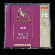 Pfaff Embroidery Designs Card #308  Ethno Ethnic for Models 2140 2160 2170