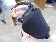 SCBA Blackout Cover, MSA Ultra Elite, BO4-100, Black polyester fleece w/bungi.