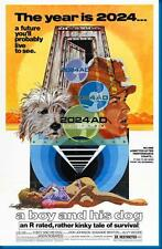 Boy And His Dog A Don Johnson Movie Poster24in x 36in