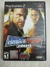 WWE Smackdown vs Raw 2009 - Playstation 2 - PS2 Wrestling Video Game - Complete