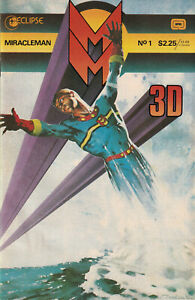 Miracleman 3-D #1, Eclipse Comics, December 1985 - $2.25 cover. NM Mick Austin