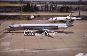 Aviaco McDonnell Douglas MD-88 EC-FIH, Colour Slide, Aviation Aircraft