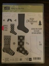 Stampin Up! HANG YOUR STOCKING Stamps & CHRISTMAS STOCKINGS Thinlit Dies