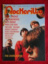 rivista ROCKERILLA 124/1990 Charlatans Fugazi Paul Weller Perfect Disaster*Nocd4