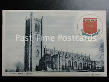 c1910 - Parish Curch, Lancaster - Heraldic Coat of Arms 'Duchy of Lancaster'