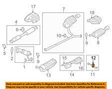 KIA OEM 11-15 Optima 2.4L-L4 Exhaust-Hanger Insulator 287623K100