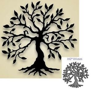 Tree Metal Cutting Dies Scrapbooking Decorative Embossing Paper Cards Stencils