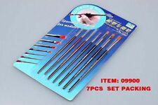 TRU09900 - Trumpeter Tools - Modeling Brushes (7 pc set)