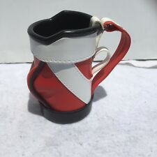 "Golf Bag Beer Koozie Drink Holder. Holds Cans Father Day Golfer 5"" Tall"