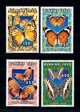 [93789] Burkina Faso 1996 Insects Butterflies Papillons Schmetterlingen  MNH