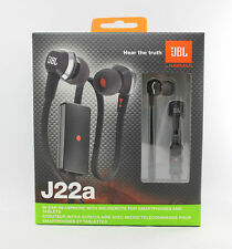 100% Genuine JBL J22A in-ear earphones with mic - Black - Android & iPhone