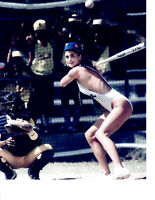 KATHY IRELAND NEW YORK METS 8X10 PHOTO  BASEBALL