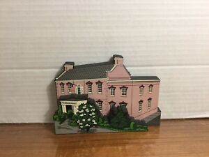 1999 Shelia's Olde Pink House Savannah GA Handmade Miniatures