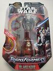 Star Wars Transformers 2005 Version Obi-Wan Kenobi Jedi Starfighter For Sale