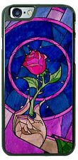Walt Disney Beauty and The Beast Rose Phone Case Cover Fits iPhone Samsung LG