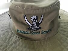 Safari Hat Skeleton Coast Namibia Canvas African Travel Tourist Size Medium