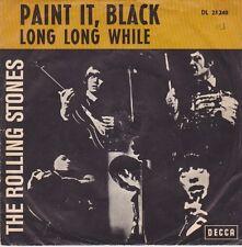 ROLLING STONES Paint It Black Orig. D Decca 25240 PS Single 1966 RARES COVER !