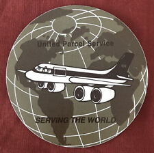 UPS UNITED PARCEL SERVICE Package Freighter Boeing DC8 Sticker/Decal Airline