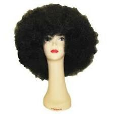 Black Big Jumbo Afro Hallowen Wig Adult 100% kanekalon fiber - Kikko Nyc