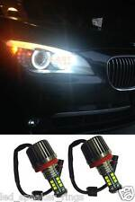 120W H8 LED HALO ANGEL EYE CREE LIGHT BULBS FOR E70 E71 E87 E92 E93 WHITE