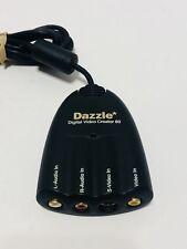 EXC++DAZZLE DVC-80 DIGITAL VIDEO CREATOR 80 RCA TO USB S-VIDEO CONVERTER