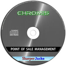 NEW & Fast Ship! Chromis Point of Sale POS Management Software System Mac Disc