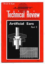 BRUEL & KJOER - TECNICAL REVIEW - Nº 1 - 1962