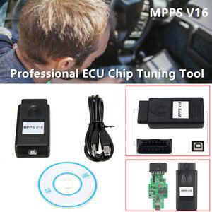 MPPS V16 Flasher 2017 Professional ECU Chip Tuning Tool Read / Write Memory OBD2