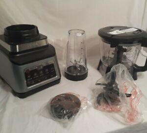 Incomplete Ninja BN801 Professional Plus Kitchen System Auto IQ 1400W New NOB
