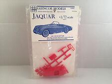 Glencoe Models Jaguar XK 120 Roadster 1:72 Scale Plastic Model Kit 01002