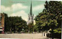 Vintage Postcard - St George's Church Flushing Long Island New York NY #4305