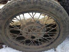 Wheel for motorcycle URAL (650cm). R x 19.
