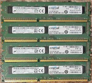 Crucial 16GB (4x4GB) PC3L-12800