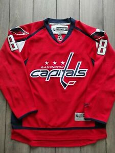 Men's Official Licenced Reebok NHL Washington Capitals Ovechkin Jersey Size L