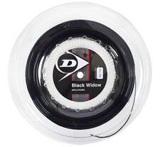 Dunlop Black Widow 1.26 mm 200m 17gauge Tennis String Polyester Racket Reel