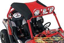 Polaris RZR 800 S XP 900 2-Seat Models Beard Bimini Black Top