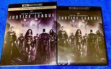 Zack Snyder's Justice League 4K Ultra Hd + Blu-ray + Slipcover