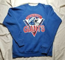 Vintage New York Giants SPELL OUT NFL Football Screen Stars RETRO 80S 90S XXL