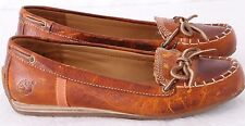Timberland Earthkeepers 18671M Moc Toe Driving Ballet Flat Lace Up Women's US 6