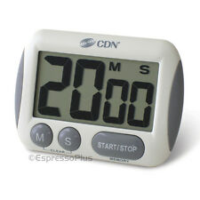 CDN Extra Big Digit Digital Timer - Perfect for All Coffee Brewing Methods