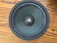 "Genuine OEM DLK 1 1/2 Speaker Woofer 8"" Driver Green Basket # 1006-2T -- Great!"