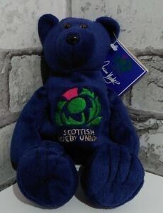 Scottish Rugby Union - Duncan Hodge Official Beanie Bear Limited Edition of 1000