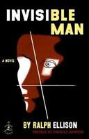 INVISIBLE MAN - ELLISON, RALPH - NEW HARDCOVER BOOK (0679601392)