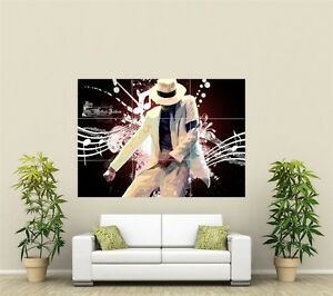 Michael Jackson Giant XL Section Wall Art Poster M105