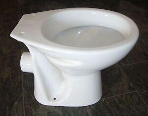 WC Stand / bodenstehend Tiefspüler 1.Wahl, weiss  + BESCHICHTUNG